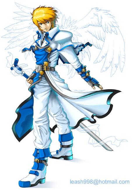 Crono Arinborn Holy_Knight